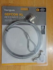 Targus Defcon KL Laptop/Notebook Security Locking Cable. O.B.O. Regina Regina Area image 1