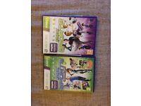 Xbox 360 Kinect Sports and Kinect Sports Season Two