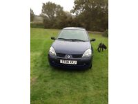 Renault Clio Campus 1.2v. Well maintained. Clean, tidy & stupendous little/first car.8.5 months MOT.