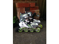 Roller Blades - UK Size 9 - Like New