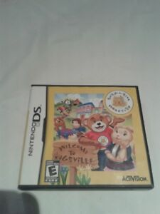 Like NEW- Nintendo Games- Build-A-Bear and Manual!!