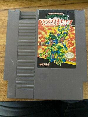 Teenage Mutant Ninja Turtles II 2 Arcade Game (Nintendo NES) Cart Only