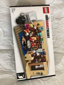 Big Bang Theory Lego Set 21302 Brand New Sealed In Box