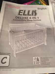 Deluxe 4-in 1 Crib and Infant bed Kitchener / Waterloo Kitchener Area image 6
