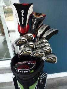 Superbe ensemble golf Cobra AMP, Ping g15, Taylormade, Callaway