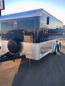 2007 HaulMark  8x16 enclosed trailer