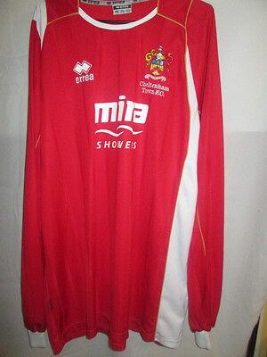 2008-2010 Cheltenham Town Home Football Shirt Size xxxl long sleeves /6233 image