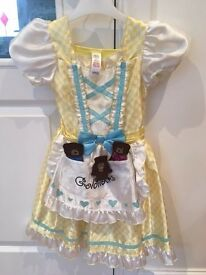 Goldilocks & 3 Bears dress - 3-5yrs