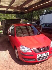 Volkswagen Polo 2008. Great condition. 55000 miles. 3 years service history.