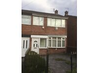 3 Bedroom end Terrace on Keybank Road L12 West Derby with gardens & garage