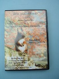 DVD Red Squirrels Wight Project narrated by Shaw Taylor