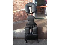 black massage stool/chair