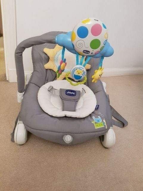 95f0bb5d9a10 Chicco balloon bouncer - dark grey GREAT CONDITION