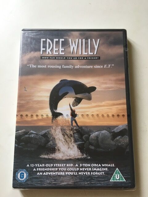 Free Willy DVDin Notting Hill, LondonGumtree - Free Willy DVD Warner Bros Classic 2 PAL Jason James Richter , Michael Madsen with late Michael Jacksons Theme NEW Sealed Collection Bayswater W25DS Shipping available