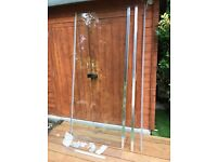new glass shower door