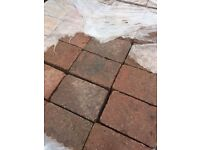 Bradstone Woburn Rumbled Block Paving, Rustic colour, 200x134 size, Many packs available