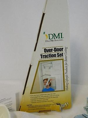 Cervical Over The Door Neck Traction Treatment Equipment Home Unit Halter White