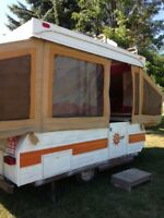 Pop up trailer rental