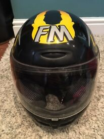 Small adult/Childs MOTORBIKE HELMET - great condition