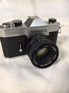 Yashica TL-Electro 35mm Film SLR Camera