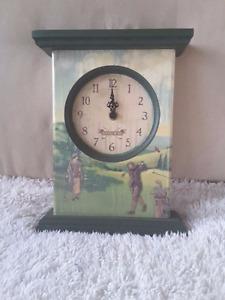 Wooden Golf Edition Clock