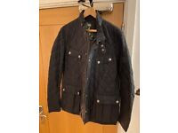 Barbour International Navy XL Men's Quilted Jacket