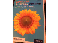 Edexcel A Level Maths: Year 1 / AS Student Book: Year 1/AS, David Bowles NEW
