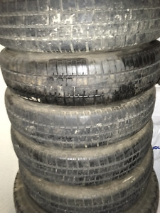 165R15 Tires fit VW Beatle, VW Thing or VW Karmann Ghia