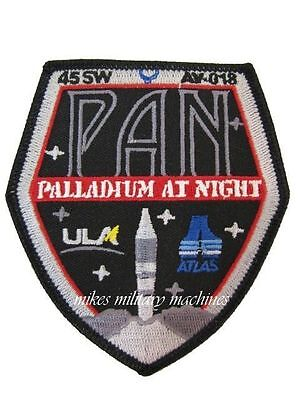 Pan Palladium At Night USA-207 Atlas V CIA NRO ULA DOD USAF Black Ops Patch New