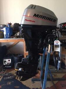 New 15hp Mariner 4 stroke bigfoot forward control outboard Rockingham Rockingham Area Preview