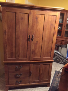 TV and Storage Armoire