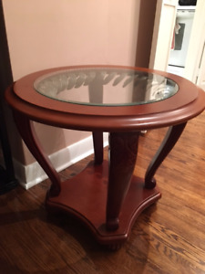 Two Mahogany Side Tables in Excellent Condition