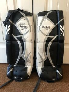 Reebok Jr Goalie Pad | Buy or Sell Hockey Equipment in