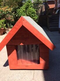 Large Dog Kennel Real Treated Wood Newly Made
