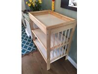 ikea baby changing table - perfect condition. £25