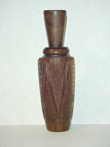 DOYLE BRELAND (1934-2020) JENA, LA. -  Hand Made Checkered Duck Call