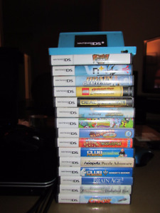 Nintendo DSI with 15 games