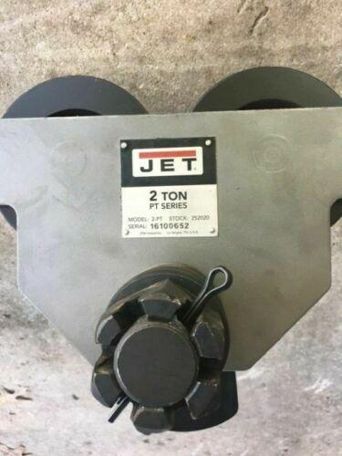 JET 2-PT, 2-Ton Heavy Duty Manual Trolley #252020