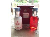 NEW Gift Box Molton Brown 2x 100ml Frankincense & Allspice Hand Wash and Lotion