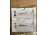 Two tickets for Simply Red & racing at Newbury Sat 16 July
