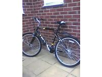 Polamar GT, mountain bike.shimano brakes, 7 gears, mud guards.good condion ,black with yellow trim