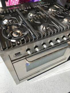 Stove oven ILove 6 burner top gas and electric Italian made 90cm