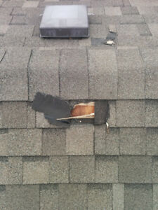 WINTER ROOF / ROOFING REPAIRS - 7 DAYS A WEEK - 647-888-5223