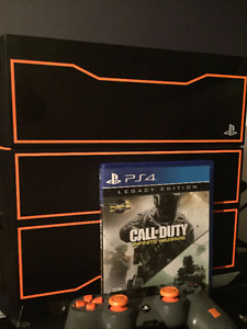 PS4 LIMITED EDITION BLACK OPS 3 VERSION WITH GAME AND CONTROLLER