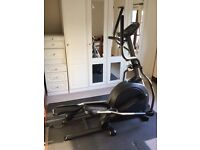 Underused Vision Fitness X1500HR cross trainer, 8 years old in good condition