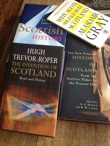 Scotland: Excellent collection of Scottish books rare, old, new