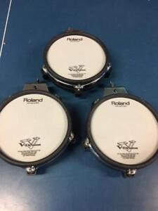 """Roland PD-85BK Dual Trigger 8"""" Mesh Pads (3 Available)"""