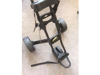 powercaddy Quatro golf trolley