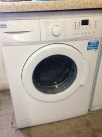 BEKO WASHING MACHINE 8kg 1200spin LIKE NEW