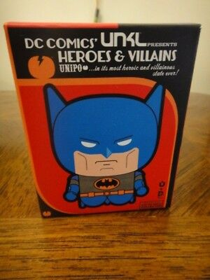 NEW Sealed Box UNiPO Heros & Villains DC Comics Series 1 Blue Batman Figure UNKL
